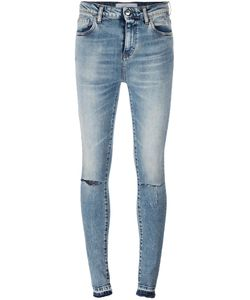 Iro | Distressed Skinny Jeans 28 Cotton/Spandex/Elastane