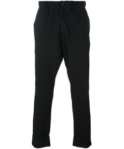 424 Fairfax | Pleated Waist Tapered Trousers Medium Polyester/Spandex/Elastane/Rayon