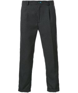 GUILD PRIME | Dotted Cropped Trousers 2 Polyester