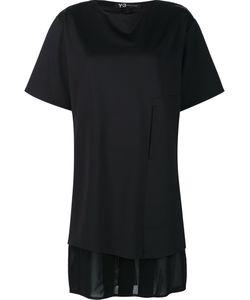 Y-3 | Lux Ft Pure T-Shirt Small Polyamide/Spandex/Elastane/Polyurethane/Cotton