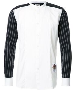 EDUCATION FROM YOUNGMACHINES | Pleated Front Shirt 2 Cotton