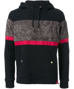 EDUCATION FROM YOUNGMACHINES | Textured Stripe Hoodie 3 Cotton