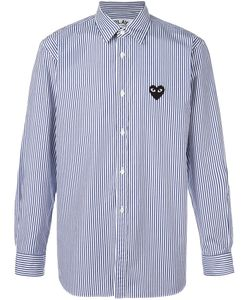 Comme des Gar ons Play | Comme Des Garçons Play Striped Button Down Shirt Small