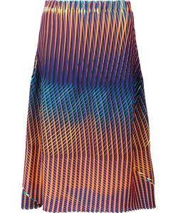Issey Miyake | Printed Midi Skirt 2 Polyester