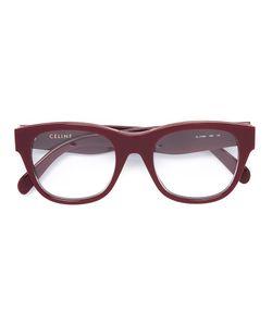 Céline Eyewear | Square Frame Glasses Acetate/Metal Other