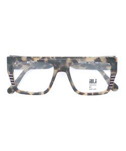 Ill.I.Am | Square Frame Glasses Acetate