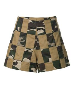 MANNING CARTELL | Patchwork Shorts 10 Cotton