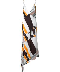 MANNING CARTELL | Asymmetric Printed Dress 10 Viscose
