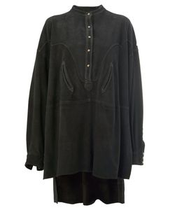 Faith Connexion | Oversized Shirt Dress Medium Goat Skin
