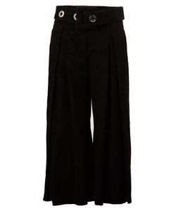 Drome | Belted Cropped Trousers Large Leather