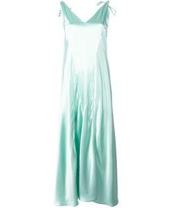 ATTICO | V-Neck Dress 40 Acetate/Viscose