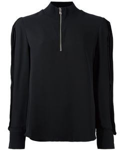 3.1 Phillip Lim | High Collar Blouse 4 Spandex/Elastane/Viscose/Silk