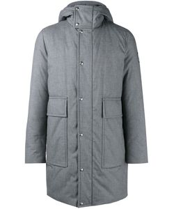Moncler Gamme Bleu | Padded Hooded Coat 1 Cotton/Feather