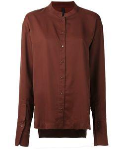 Ilaria Nistri   Mandarin Neck Shirt 40 Cupro