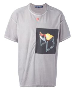 A-Cold-Wall | Front Print T-Shirt Large Cotton