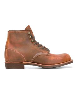 Red Wing Shoes   Lace-Up Boots 10 Calf Leather/Rubber/Leather