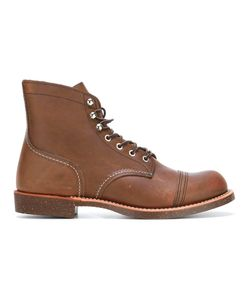 Red Wing Shoes | Lace-Up Boots 10 Calf Leather/Leather/Rubber