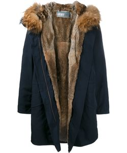 Yves Salomon | Fur Lined Parka 34 Polyester/Racoon Fur/Rabbit