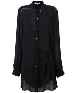 Ann Demeulemeester | Blanche Semi Sheer Long Shirt 34