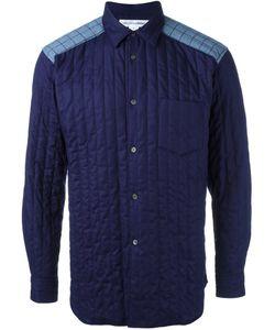 Comme Des Garcons   Comme Des Garçons Shirt Padded Shirt Large Cotton/Polyester