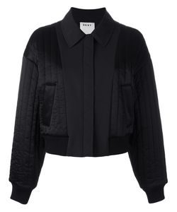 DKNY | Quilted Reversible Bomber Jacket Small Polyester/Spandex/Elastane/Viscose
