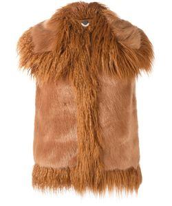 Stella Mccartney | Faux Fur Gilet 38 Modacrylic/Viscose/Cotton