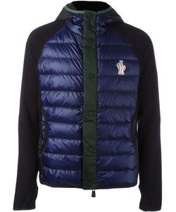 Moncler Grenoble | Hooded Buttoned Jacket Large Polyamide/Polyester/Spandex/Elastane/Feather Down