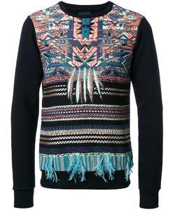 Yoshio Kubo | Embroidered Panel Sweatshirt 2 Cotton