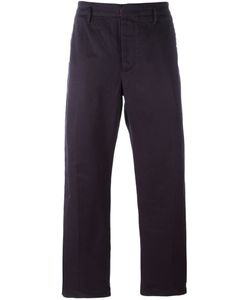 Incotex | Straight-Leg Trousers 46 Cotton