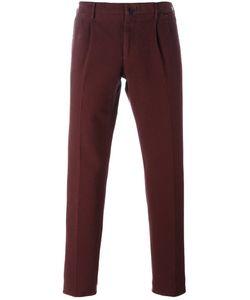 Incotex | Slim Fit Trousers 46 Cotton/Spandex/Elastane