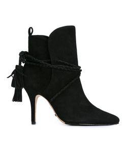 SCHUTZ | Tassel Detailing Ankle Boots 36 Suede/Leather/Rubber