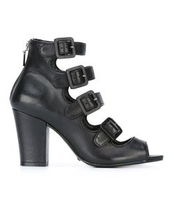 SCHUTZ | Buckled Strappy Sandals 36 Leather/Rubber