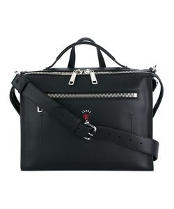 Fendi | Zip Pocket Messenger Bag Calf Leather