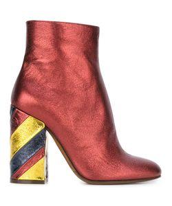L' Autre Chose | Lautre Chose Striped Heel Ankle Boots 39
