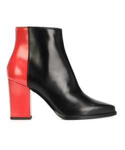 Pollini | Bicolour Boots 38 Calf Leather/Leather