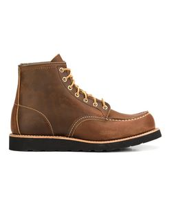Red Wing Shoes | Lace-Up Boots 9.5 Leather/Rubber