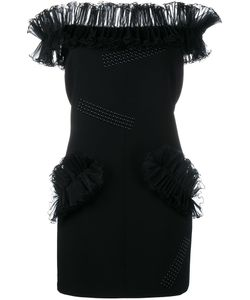 Christopher Kane | Hotfix Fitted Dress 40 Silk/Polyester/Spandex/Elastane/Aluminium