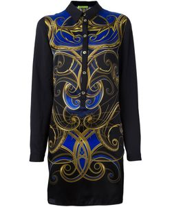 Versace Jeans | Printed Shirt Dress 46 Silk/Polyester/Acetate
