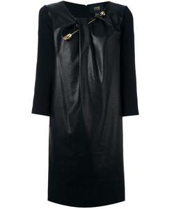 Class Roberto Cavalli | Embellished Knot Detail Dress 42 Polyester/Viscose