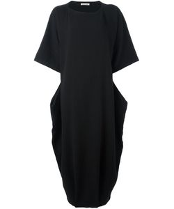 Black Crane | Quilted Box Dress Xs Cotton