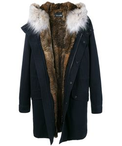 YVES SALOMON HOMME | Fur Hooded Parka 52 Rabbit
