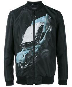 Christopher Kane | Car Crash Bomber Jacket 50 Nylon/Viscose