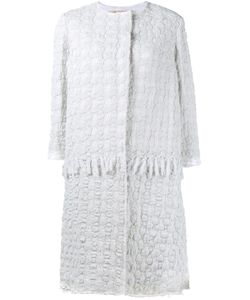 BY WALID | Crocheted Coat Large Cotton