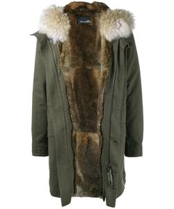 YVES SALOMON HOMME | Fur Trimmed Parka 44 Cotton/Rabbit