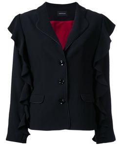 Elaidi | Ruffle Detail Blazer 42 Polyester