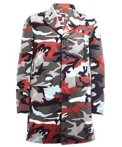 Moncler Gamme Bleu | Camouflage Print Coat 2 Cotton/Cupro