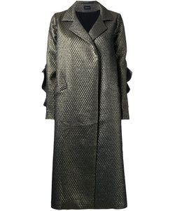 Elaidi | Long Overcoat 40 Polyester/Spandex/Elastane