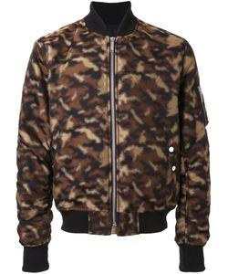 PUBLIC SCHOOL | Camouflage Bomber Jacket Xs Polyester/Acetate