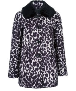 Marc Jacobs | Leopard Print Coat 0 Polyester/Cupro
