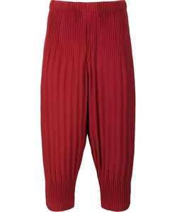 HOMME PLISSE ISSEY MIYAKE | Homme Plissé Issey Miyake Pleated Cropped Trousers 3